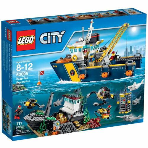 【LEGO 樂高積木】City 城市系列 - 深海探險探勘船 LT-60095
