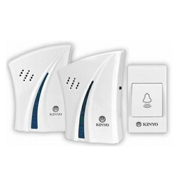 賣家送電池 耐嘉 KINYO DBA-376 1對2交流式遠距離無線門鈴 門鈴/電鈴/看護鈴/救護鈴