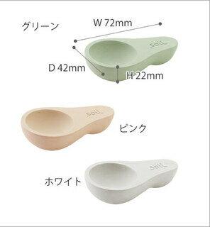 【超取免運】日本製 soil 珪藻土調濕 防潮湯匙 / 茶葉勺(大)*夏日微風* 2