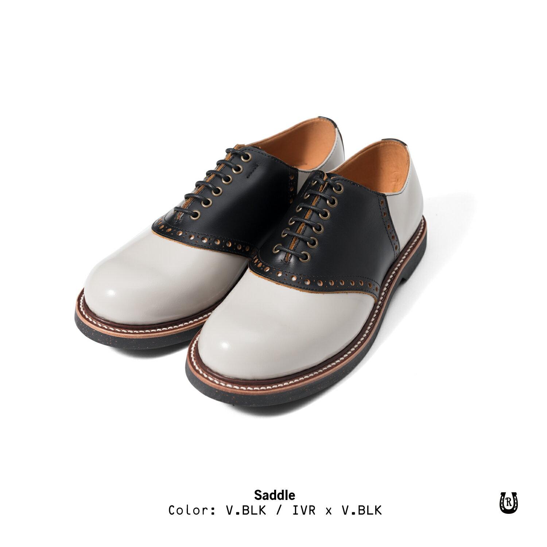 【預購八折】Retrodandy Saddle shoes 經典復古工作皮鞋 日廠Goodyear固特異手工製鞋法 5