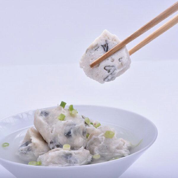 【新鮮物語】彈牙虱目魚皮丸 300g / 包 2