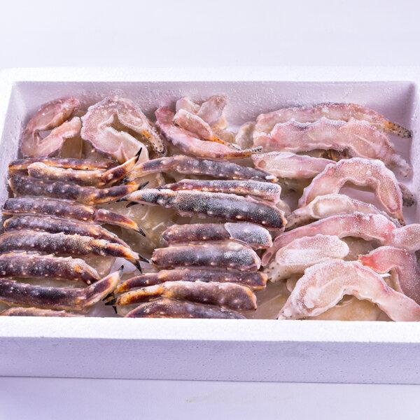【新鮮物語】頂級生凍鱈場蟹腳禮盒 800g / 盒 1