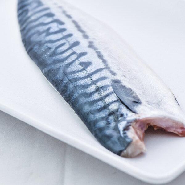 買一送一!【新鮮物語】超大size挪威薄鹽鯖魚片(3L) 淨重175g±10%/片 2