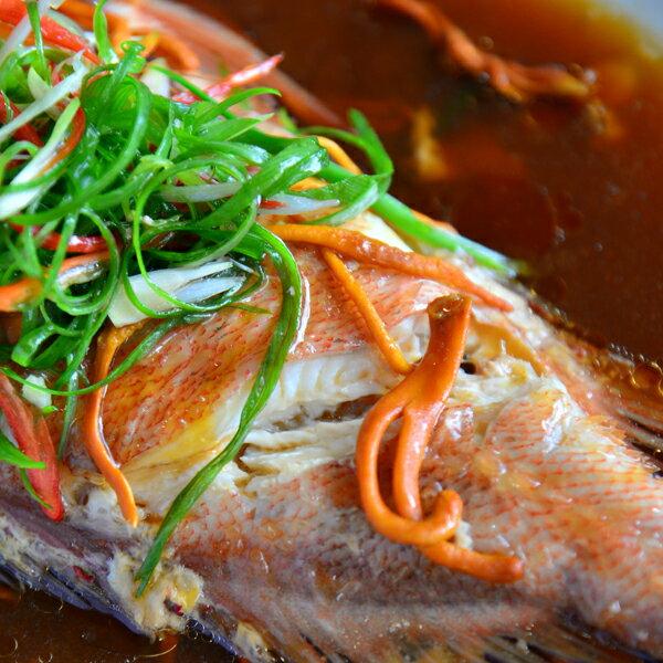 【新鮮物語】挪威野生紅寶魚700g±10% / 隻冷凍包裝 1