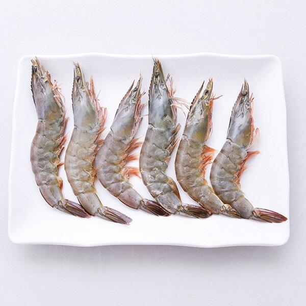 【新鮮物語】海洋鮮甜生白蝦600g±10%/盒 (約27尾) 2