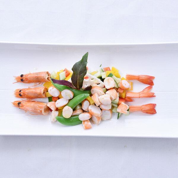 買一送一!【新鮮物語】極鮮美頂級甜美熟白蝦700g (約35-40隻/包) 1