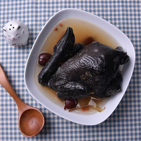 【新鮮物語】鮮人蔘烏骨雞 2kg 2