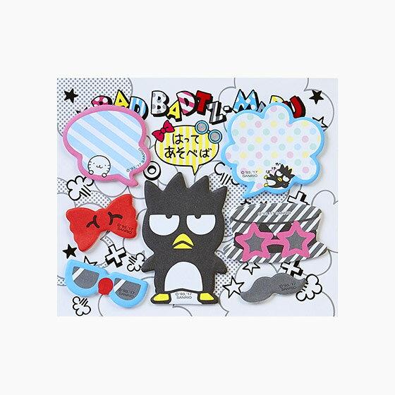 【真愛日本】17072200058 造型便條便利貼-XO變裝+AAY 三麗鷗 酷企鵝 便條紙 便條本 memo