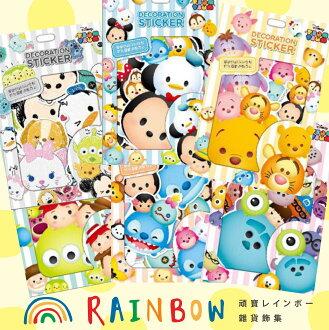 頑寶Rainbow * 迪士尼TSUM行李箱裝飾貼紙 - 米奇米妮玩具總動員怪獸大學