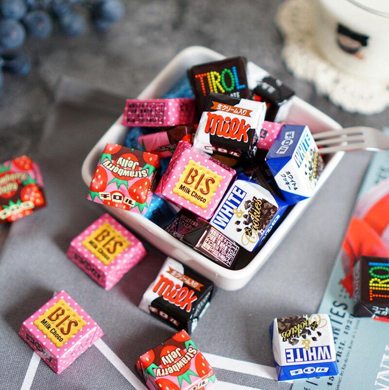 【TIROL松尾】巧克力可愛繽紛包增量裝 30枚入 210g チロルチョコ バラエティパック 日本進口零食 3.18-4 / 7店休 暫停出貨 3