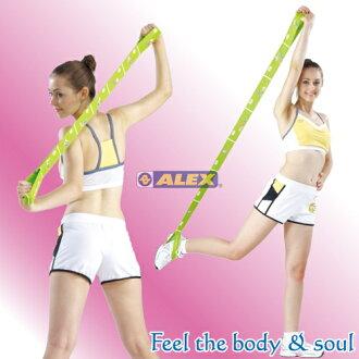 騎跑泳者-ALEX C-45 美姿拉力帶-草綠/黑,材質:尼龍、橡膠,專利字號:新型第M336794號