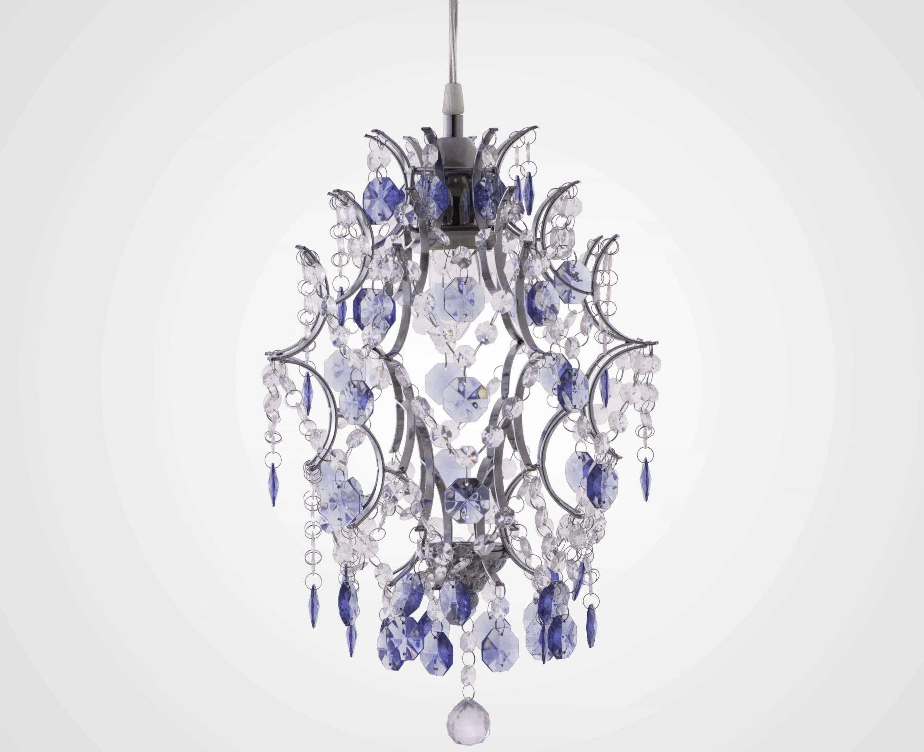 優雅鍍鉻架壓克力珠吊燈-BNL00044 3
