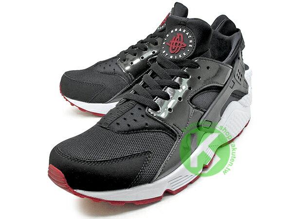2017 少量入荷 1992 經典鞋款 重新復刻 NIKE AIR HUARACHE BRED 黑紅 網布 亮皮 透氣 輕量 慢跑鞋 限量發售 (318429-032) 0117 1
