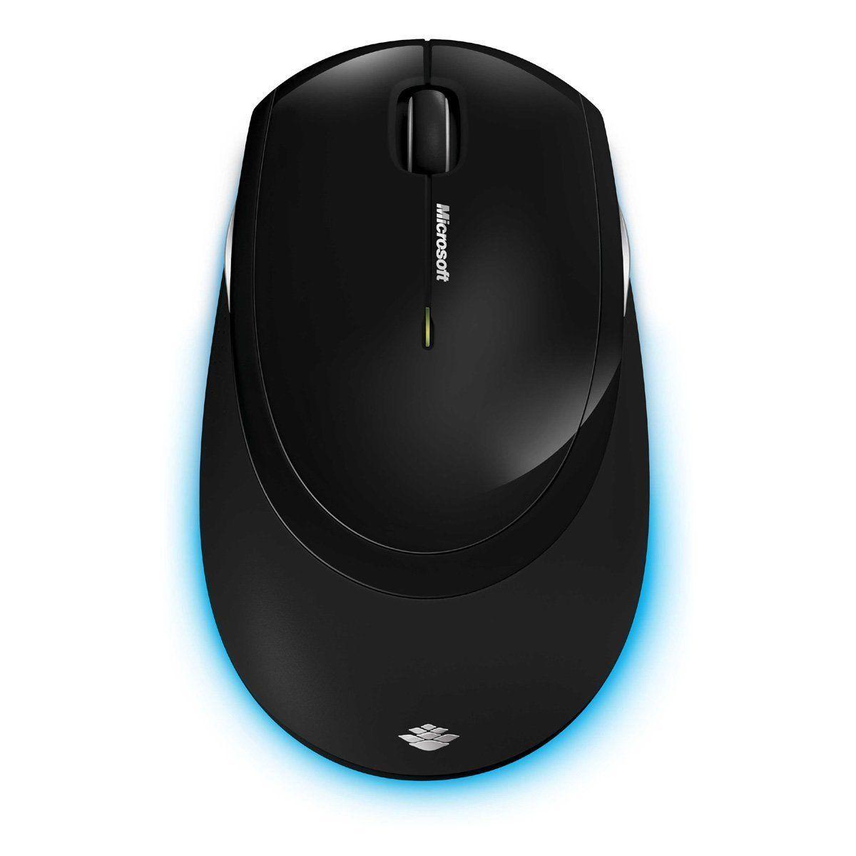 Microsoft Wireless Comfort Desktop 5000 Keyboard and Mouse - Black 4
