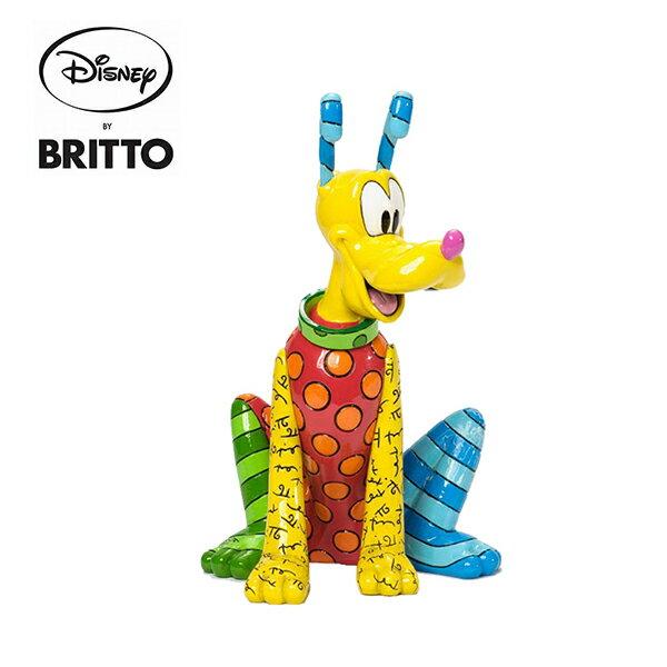 【正版授權】布魯托Britto塑像公仔精品雕塑米老鼠Pluto迪士尼DisneyEnesco-622325