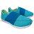 《限時特價799元》 Shoestw【63W1FR61CB】PONY健走鞋 繃帶鞋 水藍 女款 0