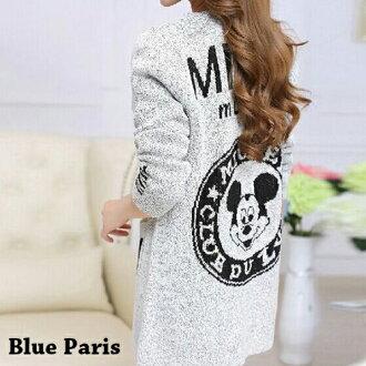 外套 - 多款式開襟雙色麻花針織長袖外套【29190】藍色巴黎《4款》現貨 + 預購