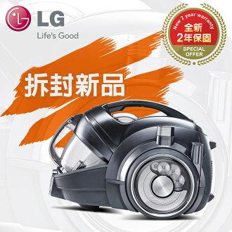 拆箱新品★2年保固【LG樂金】自動跟隨。圓筒式變頻無線吸塵器/質感銀(VR94070NCAQ)★結帳折