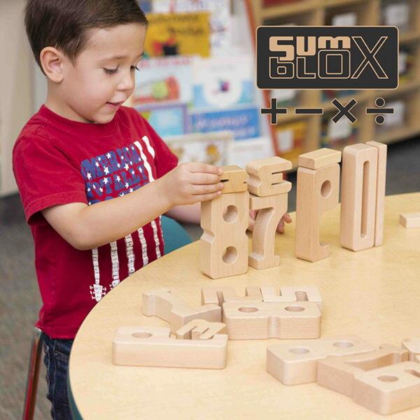 【美國SumBlock】數與量1-10學習組100pcsSX000001