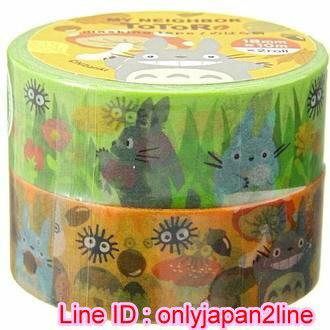 【真愛日本】150813000332入紙膠帶-龍貓香菇  龍貓 TOTORO 豆豆龍   膠帶  文具