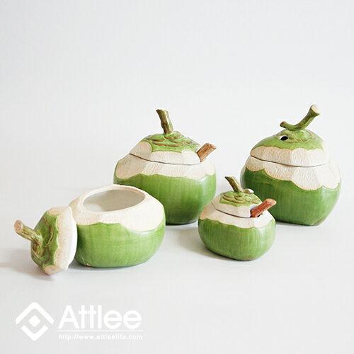 Attlee椰們系列《少椰》創意甜品/造型蓋碗/禮品/造型盅/茶碗蒸/陶瓷飯碗/調味罐/布丁碗