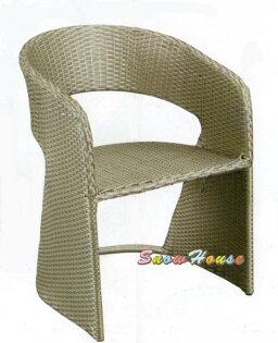 ╭☆雪之屋小舖☆╯R957-01休閒藤椅造型椅戶外椅洽談椅