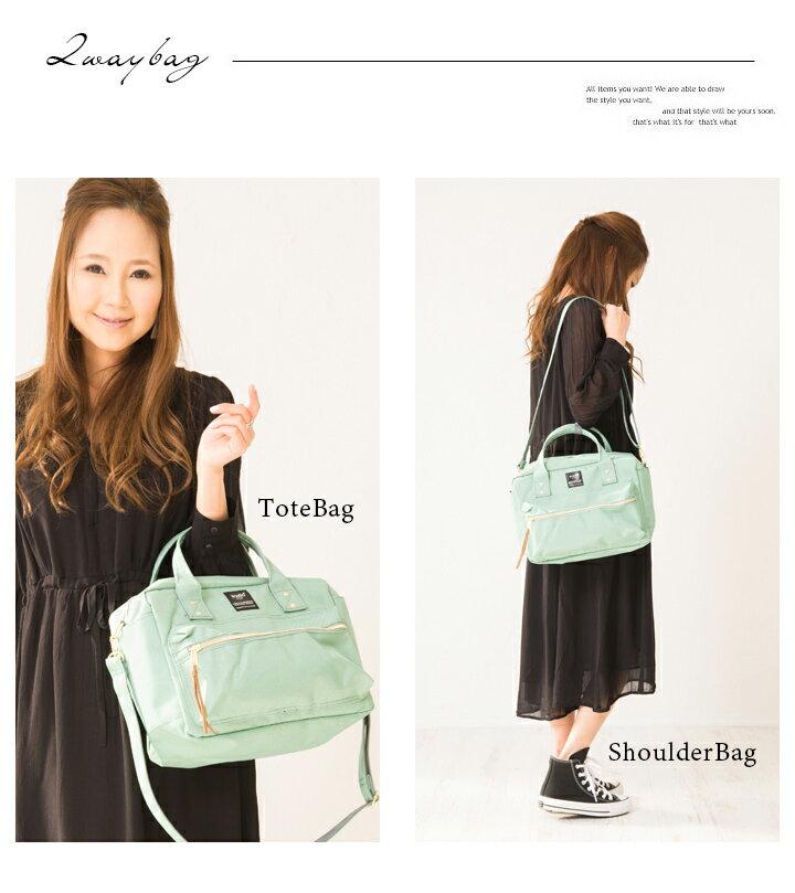 日本anello  /  2way / 方型手提肩背兩用背包 / 聚酯纖維 / AT-C1224。共7色-日本必買 日本樂天代購(3500*0.6) 4