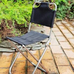 美麗大街【107011504】牛津布有椅背輕便摺疊椅子