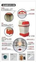美容家電到免運費 勳風豪宅級加熱式SPA足浴泡腳機/足浴機 HF-3758