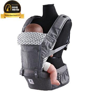 【本月特價$4180】【Pognae】 No.5超輕量機能坐墊型背巾-東京灰 - 限時優惠好康折扣