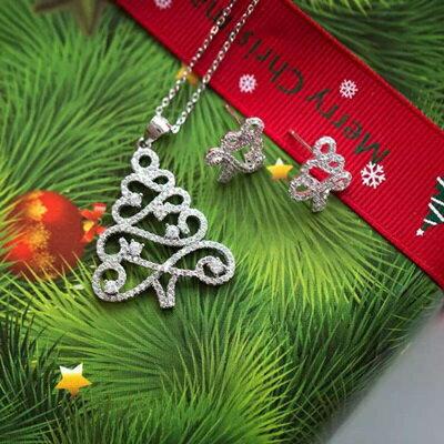 聖誕禮物推薦飾品項鍊歡樂的聖誕節到來,送妳一棵銀光閃閃的項鍊,優雅又帶有一絲絲可愛的氣息,感受到寒冬裡最溫暖的祝福。飾品就在項鍊推薦項鍊
