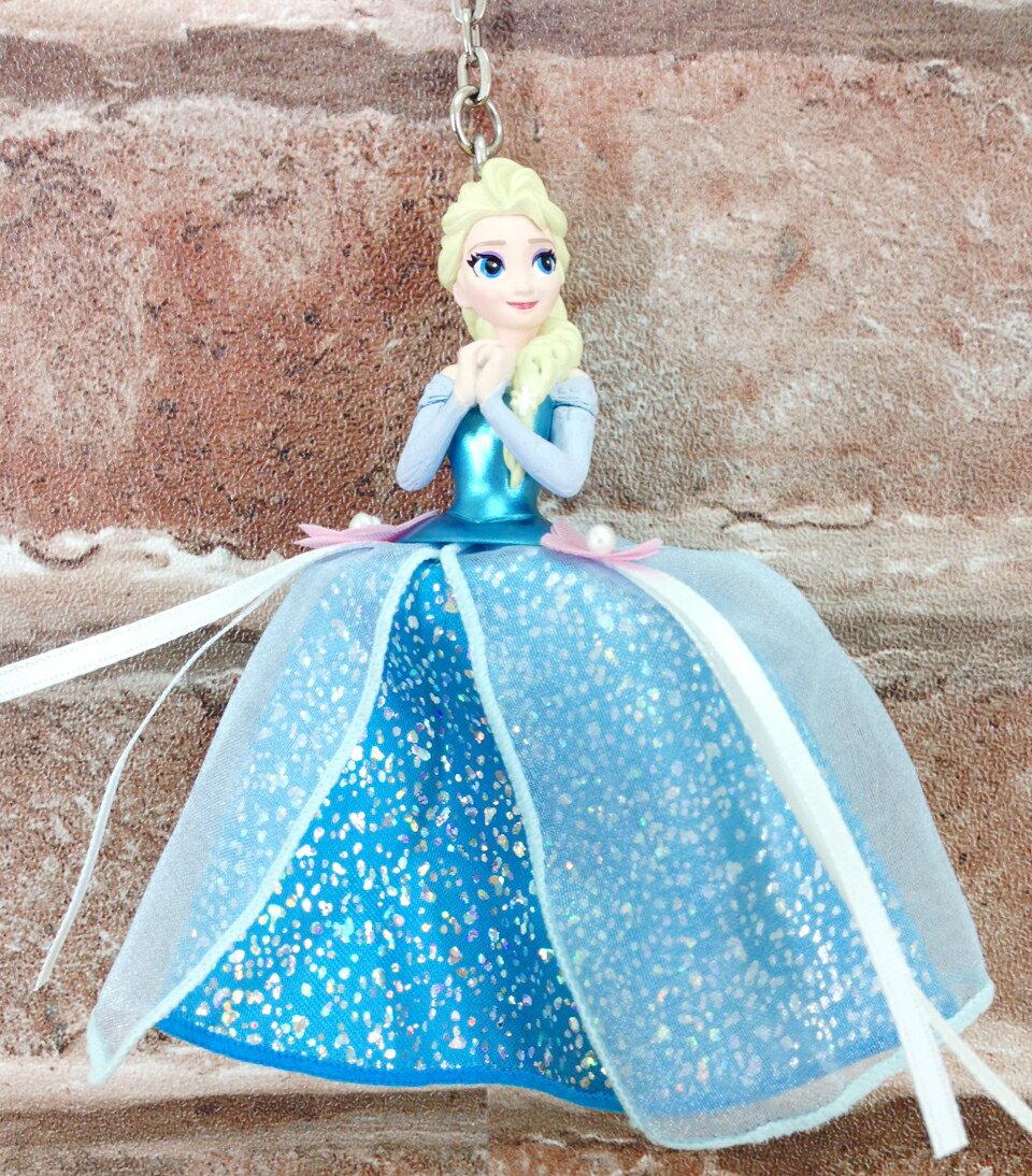 【真愛日本】16012900009 樂園限定公主鎖圈-艾莎Elsa 迪士尼冰雪奇緣Frozen 鎖圈 吊飾 日本帶回