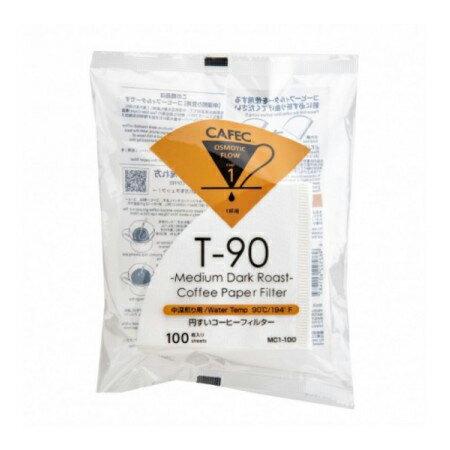 三洋濾紙 CAFEC 中深焙錐形濾紙100入 (1-2人份)、(2-4人份) 咖啡濾紙《vvcafe》 0