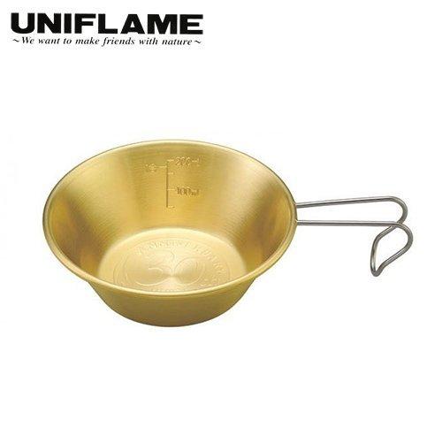 ├登山樂┤日本 UNIFLAME 30周年紀念版黃銅掛耳杯/碗 300ml # U668092