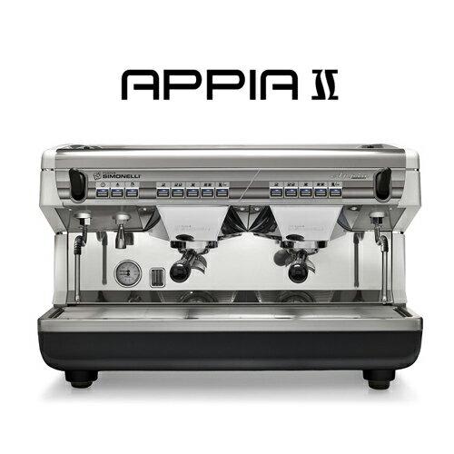 NuovaSimonelliAppiaII半自動咖啡機營業用咖啡機白、紅、黑三色可選需預訂