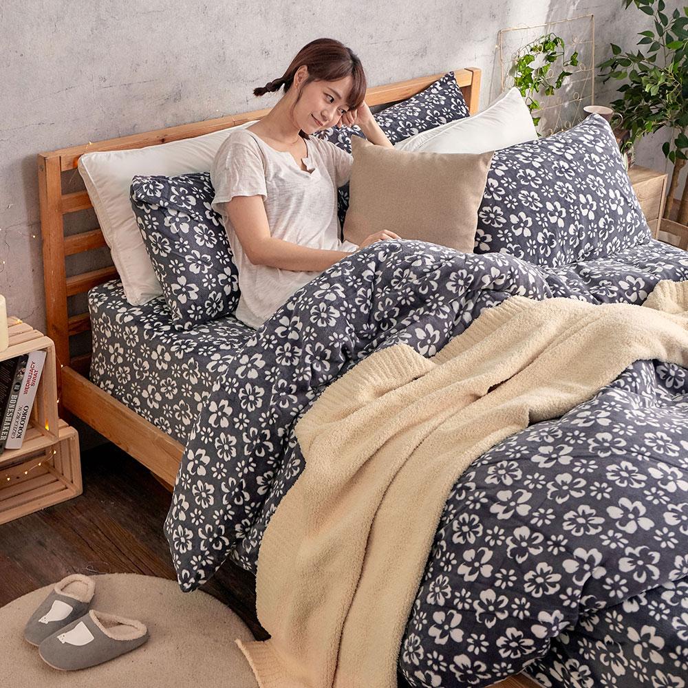 法蘭絨 床包兩用毯被套組【多款任選】單 / 雙 / 加大 均一價 激暖柔軟 7