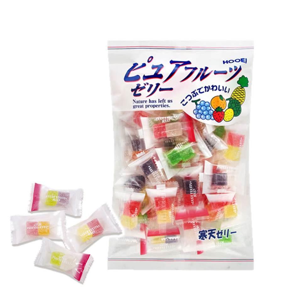 【豐榮】綜合水果寒天軟糖 240g 豊栄 ピュアゼリー  日本進口糖果 3.18-4 / 7店休 暫停出貨 1