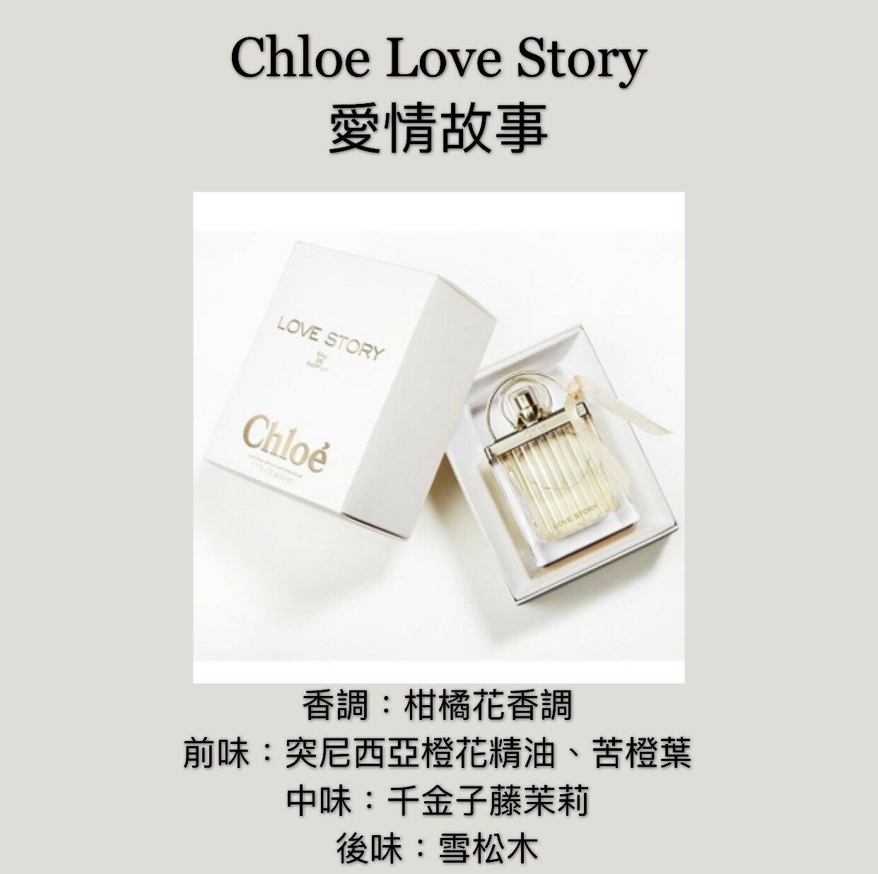 【香舍】Chloe Love Story 愛情故事 女性淡香精 50ML/75ML