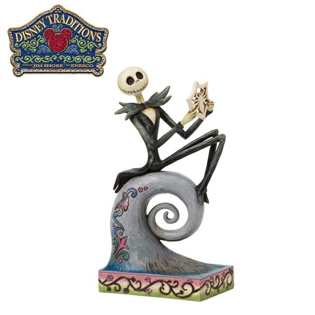 【正版授權】Enesco 聖誕夜驚魂 傑克 坐姿塑像 公仔 精品雕塑 迪士尼 Disney - 650403 - 限時優惠好康折扣