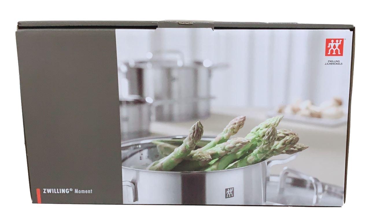 熱銷 限量 德國 雙人牌 單柄深平煎鍋 鍋具 含蓋 24公分 ZWILLING Moment 超取限一個