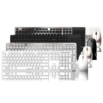 B.Friend BR1430 2.4G無線鍵鼠組 LED顯示 超輕薄 USB隨插即用 無線鍵盤 無線鍵盤組【迪特軍】