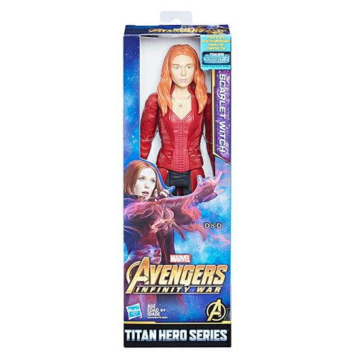 《復仇者聯盟‧無限之戰》12吋泰坦英雄人物-紅緋女巫