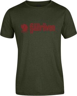 台北山水戶外用品專門店:Fjallraven小狐狸有-機棉短袖T恤棉T旅遊RetroT-Shirt男81782630橄欖綠