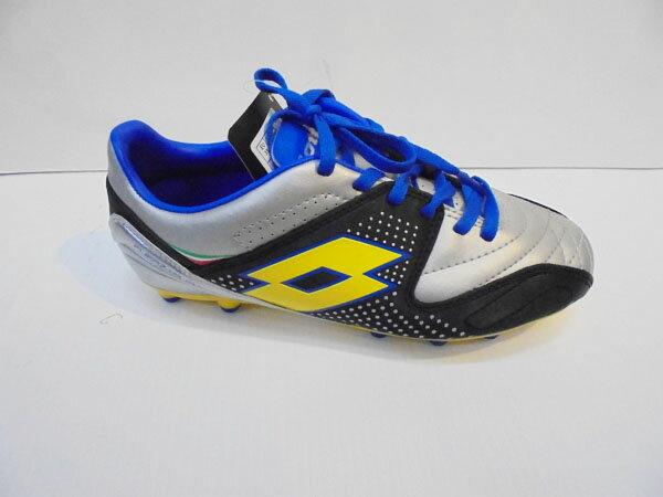 [陽光樂活=](特價出清) LOTTO 兒童草地釘鞋鞋 輕量舒適X防潑水 FUERZAPURA 700 JR LTR2580 足球鞋
