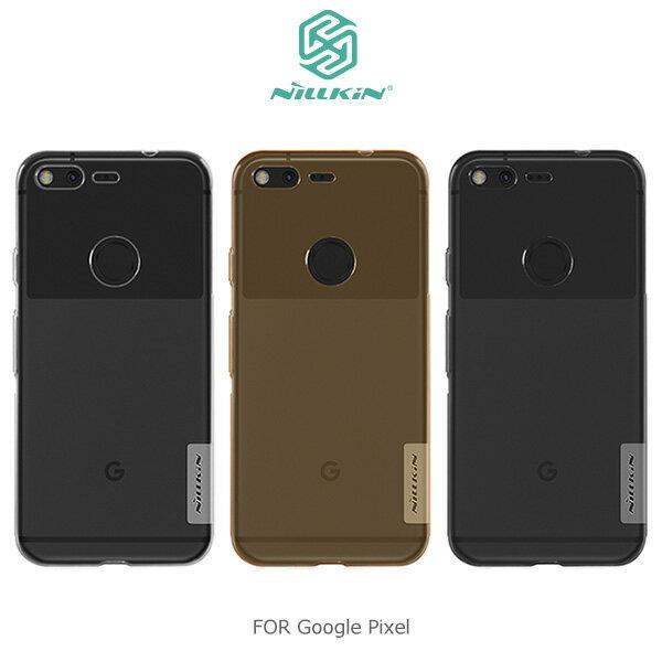 【愛瘋潮】NILLKIN Google Pixel 本色TPU軟套 軟殼 果凍套 手機殼