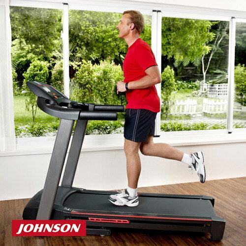 JOHNSON喬山 8.1T 實境互動電動跑步機《view fit運動系統》