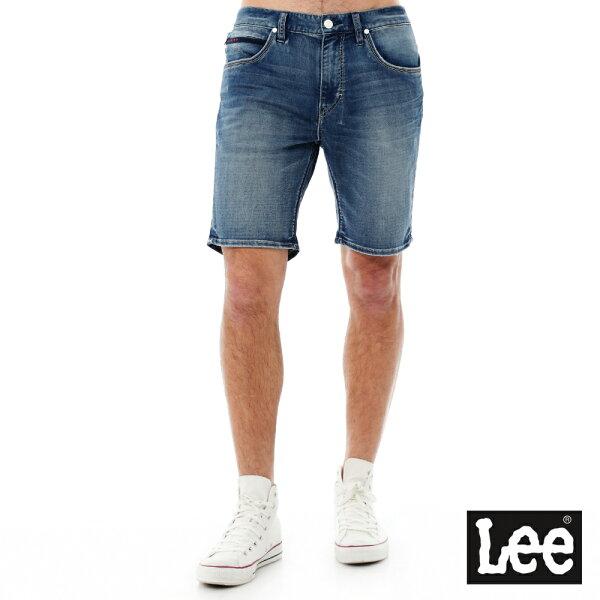 【季末出清5折】Lee 牛仔短褲/DC-男款