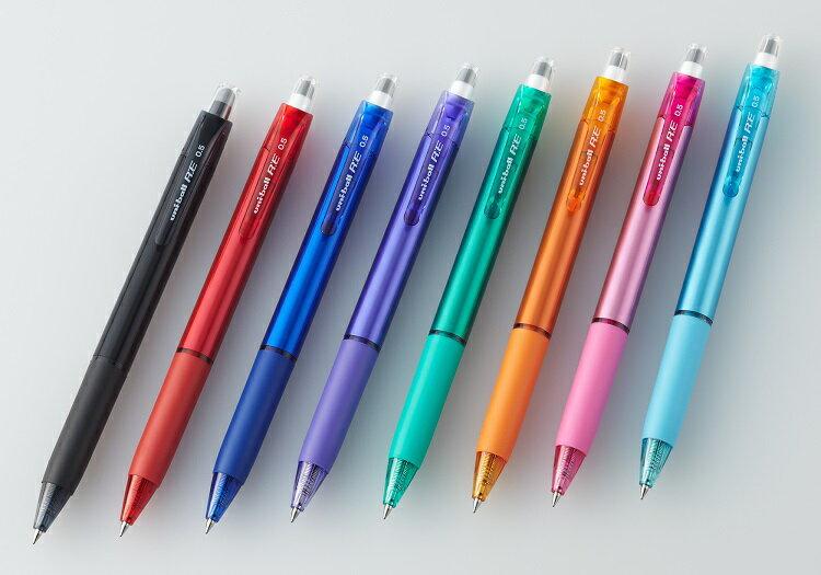 uni-ball三菱URN-180-05 0.5mm 新科技魔擦筆(單入款)