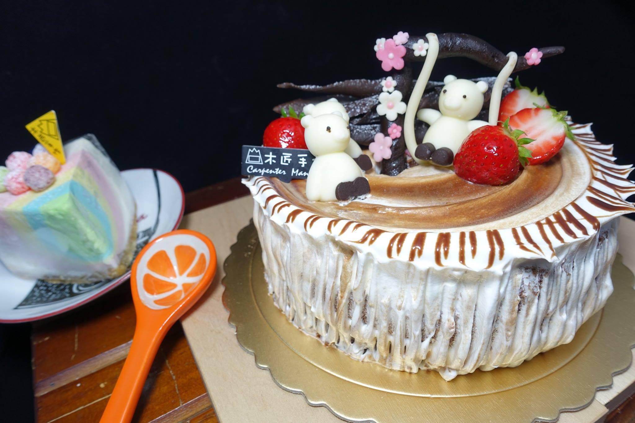 木匠手作★客製化生日蛋糕(8吋) 7