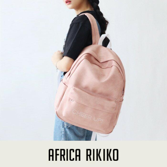 後背包 韓國AFRICA RIKIKO水洗皮革後背包 NO.R131 NO.131